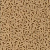 Moda - Spice It Up - 6609 -  Leaf Print, Brown on Beige - 38053 11 - Cotton Fabric